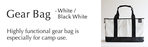 Gear Bag - White Red / White Black