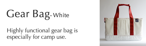 Gear Bag - White