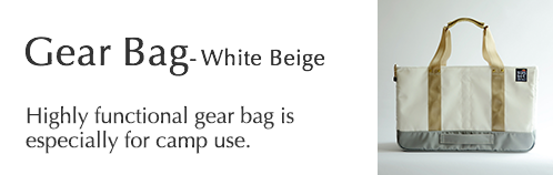 Gear Bag - White Beige